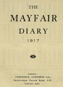 Sharp Diary 1917