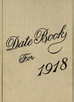 Sharp Diary 1918