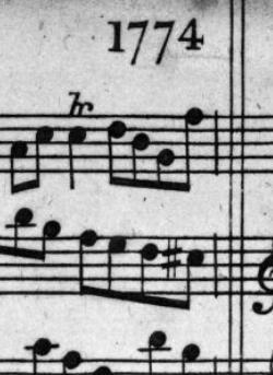 Thompson's 1774