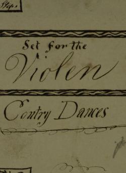 W. G.'s Violin Tunebook